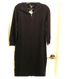 Tommy Bahama Black Sweater Dress-NEW